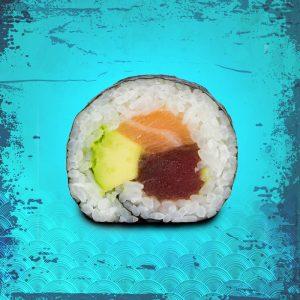 Футомаки сьомга тон и авокадо